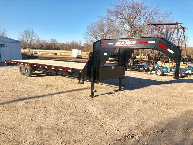 "NEW MAXXD 30' X 102"" FLATBED STRAIGHT DECK"