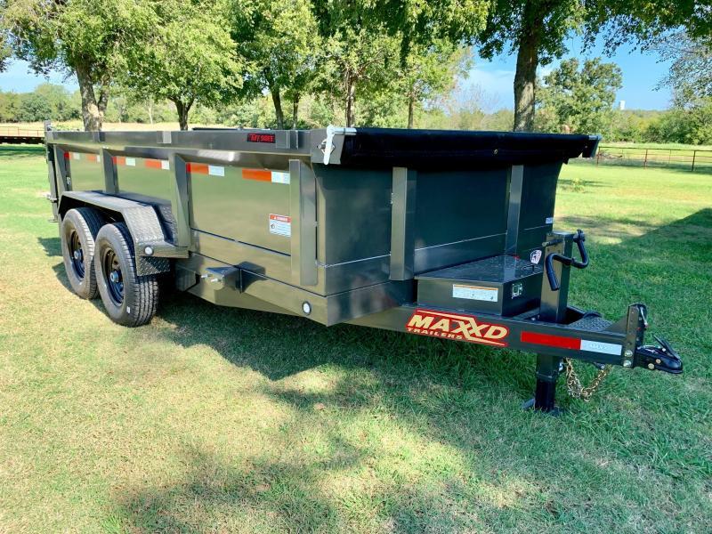 2020 MAXXD 14' x 7' Classic Dump 14K