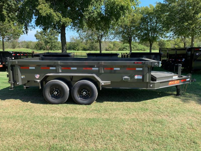 "NEW MAXXD 14' X 83"" LOW-PRO I-BEAM DUMP"