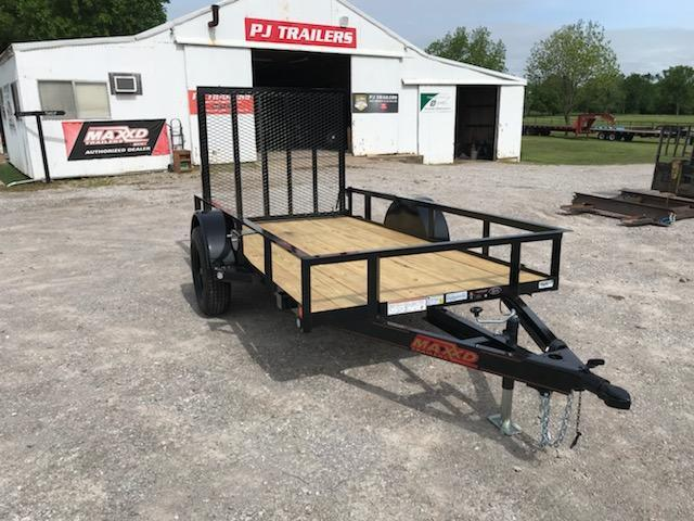 NEW MAXXD 10' X 5' SINGLE AXLE UTILITY