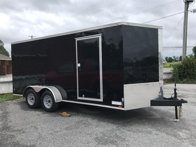 2020 Diamond Cargo 7x14 TA Enclosed Cargo Trailer