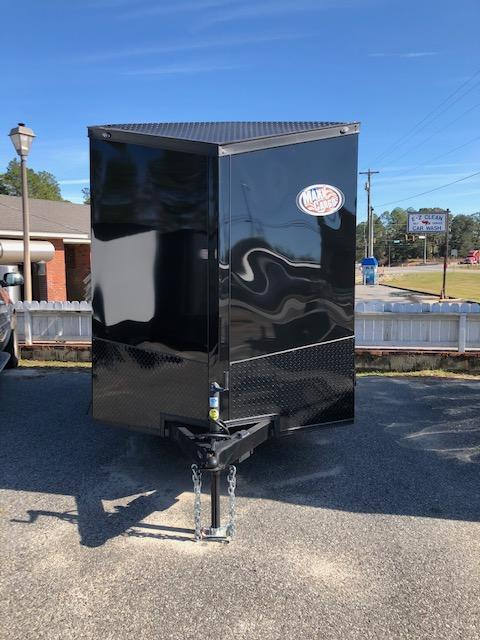 2019 Spartan 6x12 TA Enclosed Cargo Trailer