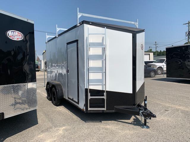 2019 Spartan 7x14TA Equipment Trailer