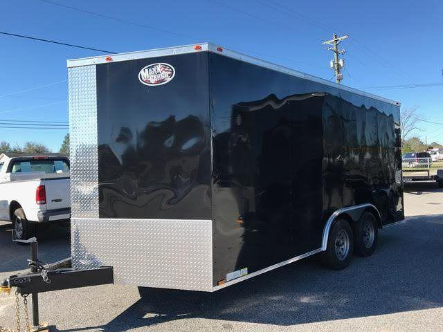 2020 Diamond Cargo 8.5 x 16 TA Enclosed Cargo Trailer