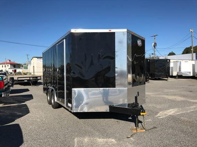 2020 Diamond Cargo 8.5 x 16 TA Enclosed Cargo Trailer