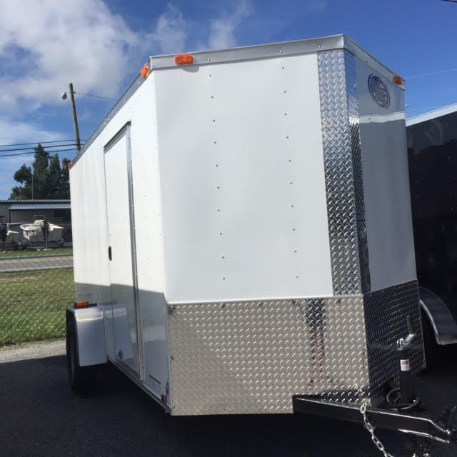 2020 Diamond Cargo 6x12 SA Enclosed Cargo Trailer