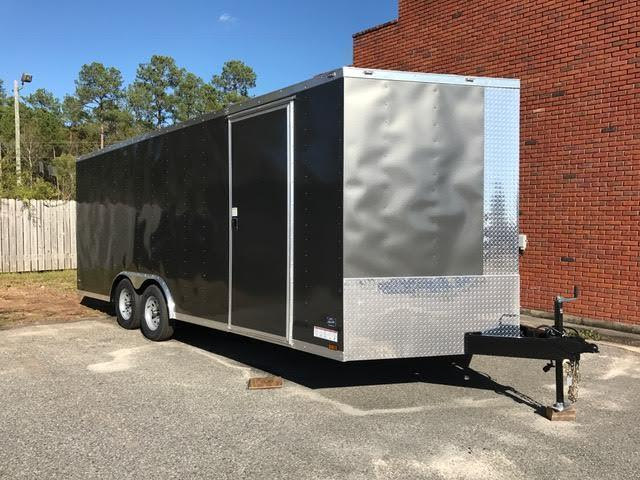 2020 Diamond Cargo 8.5x20 TA2 Enclosed Cargo Trailer