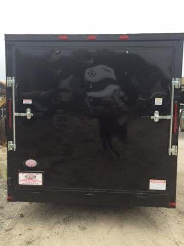 2017 Diamond Cargo 7 x 16 TA - Blackout Edition