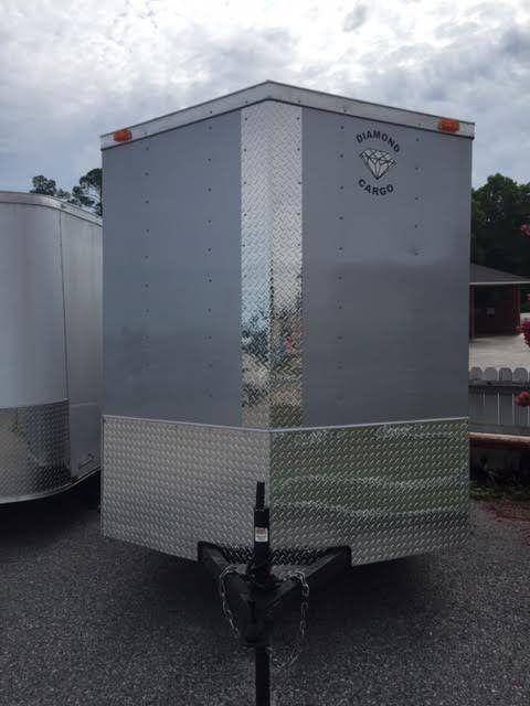 2017 Diamond Cargo 6x12 SA Enclosed Cargo Trailer