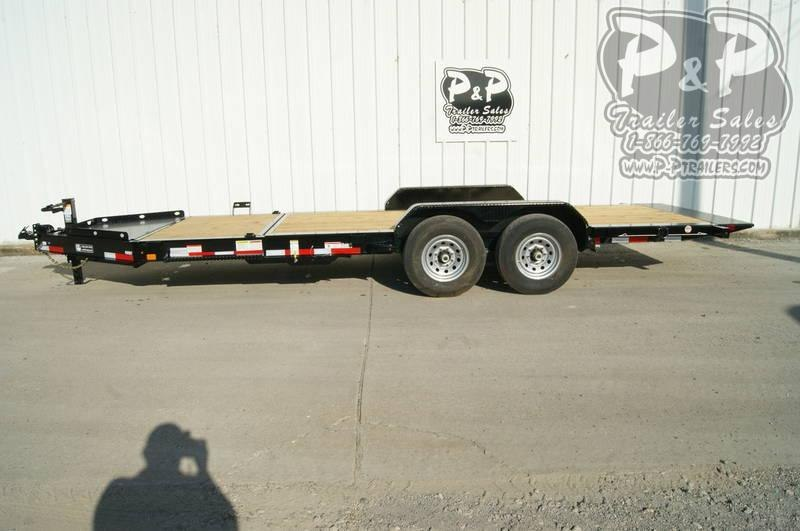 2019 Diamond C Trailers 48HDT 20' x 82 20 ft Flatbed Trailer