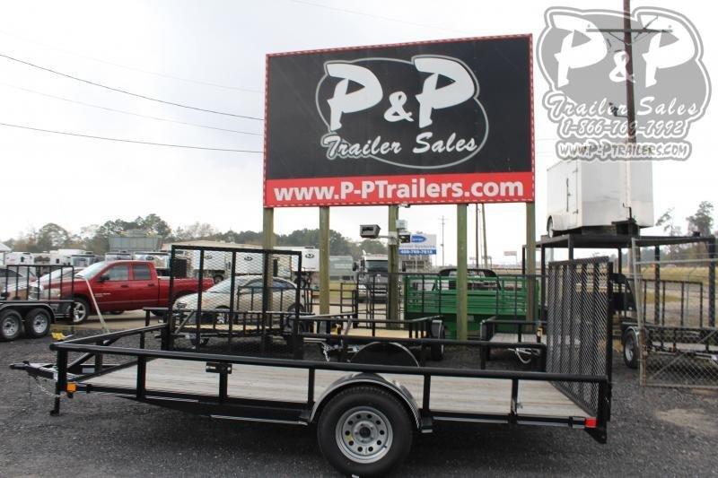 2020 P and P PPSA14X83LDRGSGPT 83 x 14 ft Utility Trailer
