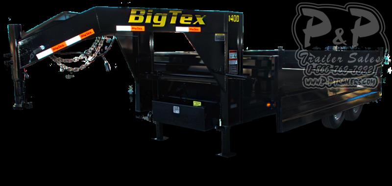2019 Big Tex Trailers 14OD-GN Dump Trailer