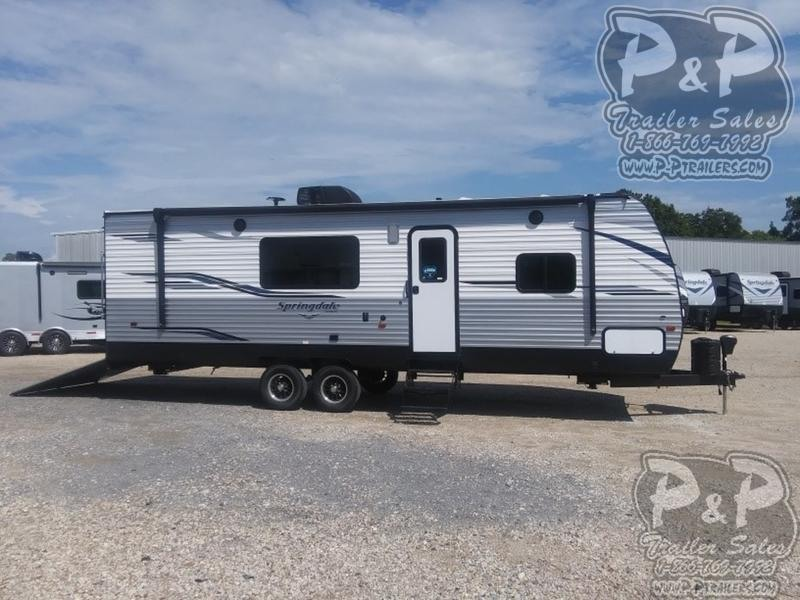 2020 Keystone Springdale 27TH 28.10 ft Toy Hauler RV