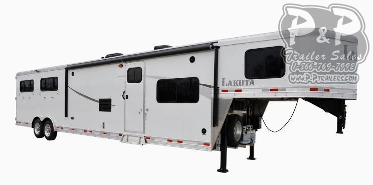2020 Lakota Colt AC8X15 3 Horse Slant Load Trailer 15 FT LQ
