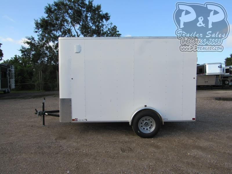 2019 Carry-On Cargo Trailers 6X12CGRBN (Extra Tall) 12 ft Enclosed Cargo Trailer