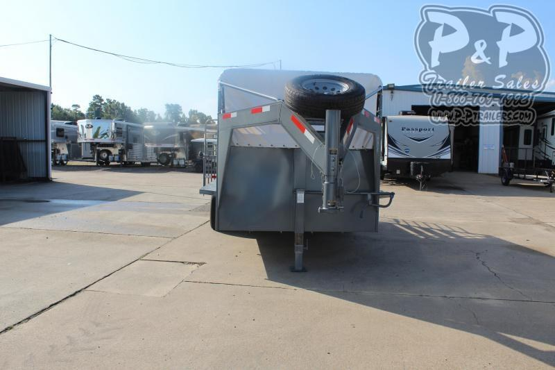 """2019 W-W Trailer Roustabout 16x68"""" 16 ft Livestock Trailer"""