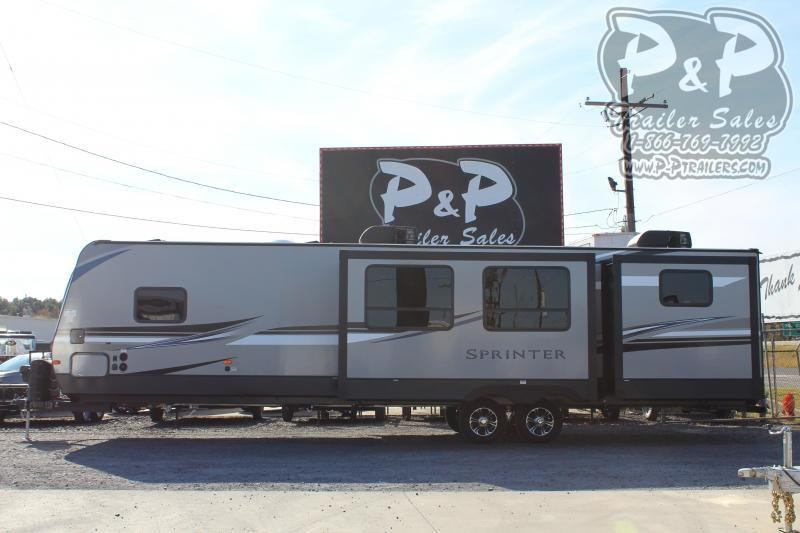 "2020 Keystone Sprinter Limited 341BIK 38' 10"" ft Travel Trailer RV"