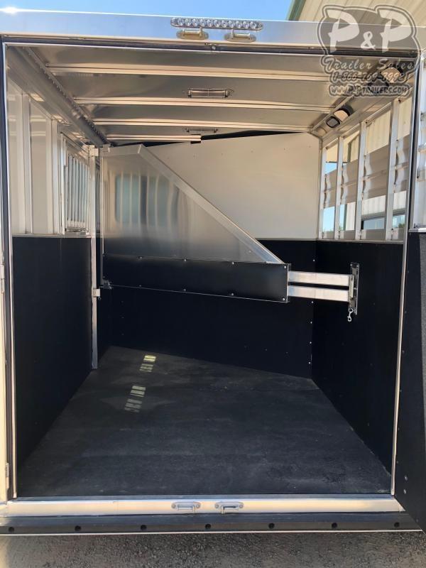 2020 CM Renegade 2-Horse 13 ft. 6 8 2 Horse Slant Load Trailer