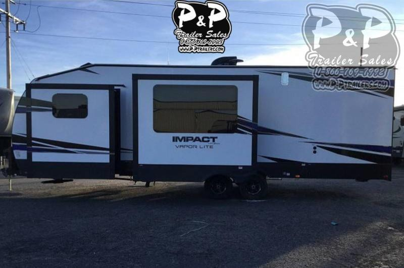 2020 Keystone Impact 29V 33 ft Toy Hauler RV