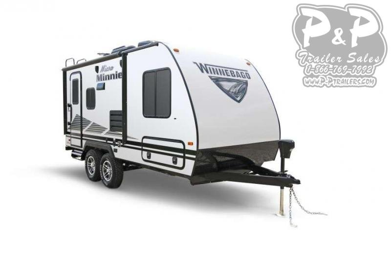2020 Winnebago Micro Minnie 2106FBS 21.92 ft Travel Trailer RV