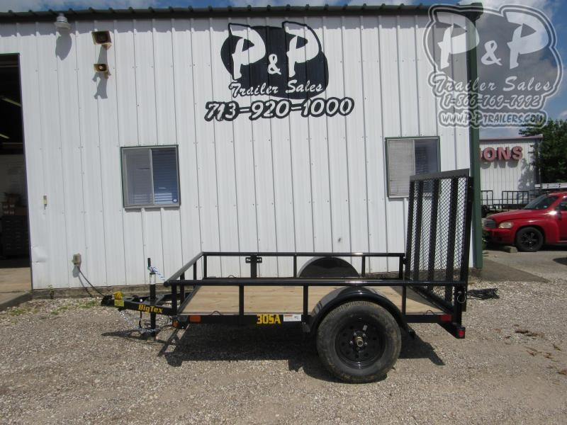 2020 Big Tex Trailers 30SA-08 8 ft Utility Trailer