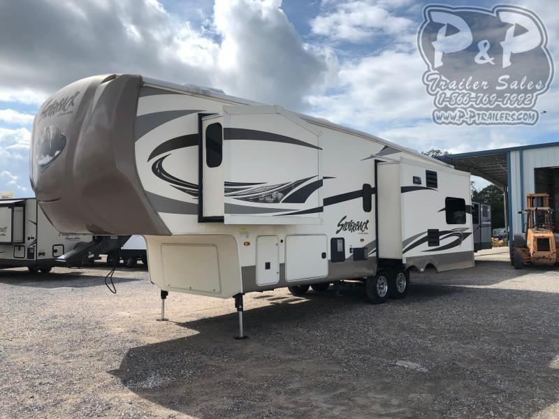 2016 Cedar Creek Silverback 29IK 33.92 ft Fifth Wheel Campers RV