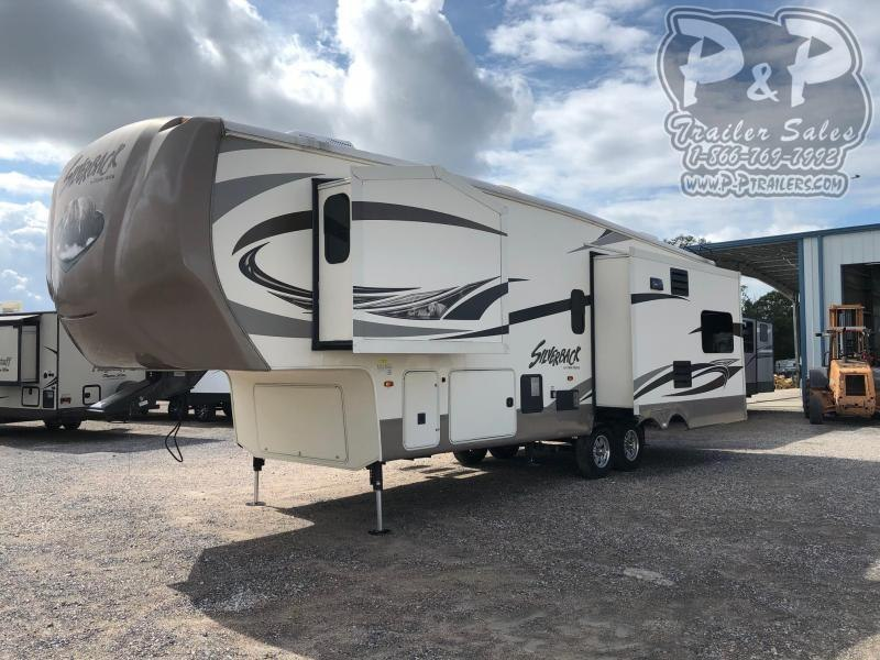 2016 Cedar Creek Silverback 29IK 33.92 ft Fifth Wheel Campers RV
