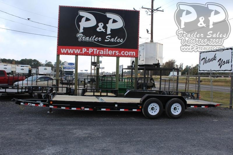 2020 PJ Trailers T6J2272BTTK 22 ft Flatbed Trailer