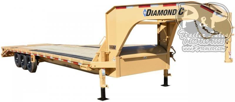 2020 Diamond C Trailers FMAX307 Gooseneck Equipment Trailer