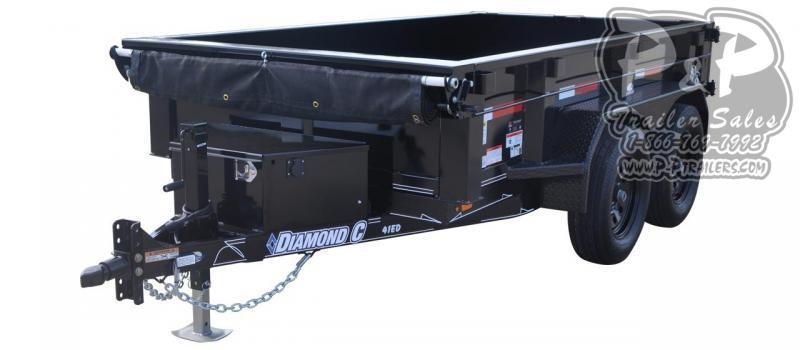 2020 Diamond C Trailers EDG Dump Trailer