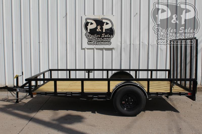 "2020 P and P PPSA12X83LDRGPT *** 12' x 83"" *** Utility Trailer"