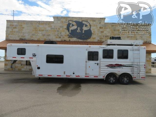 2017 Exiss Trailers 7311 3 Horse Slant Load Trailer 11 FT LQ