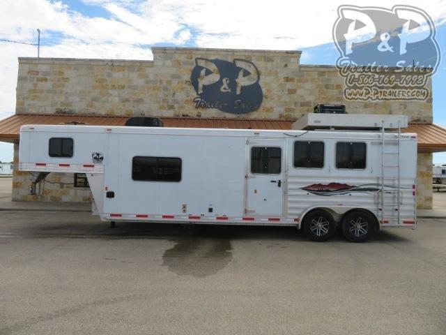 2017 Exiss Trailers 7311 3 Horse Slant Load Trailer 11 FT LQ