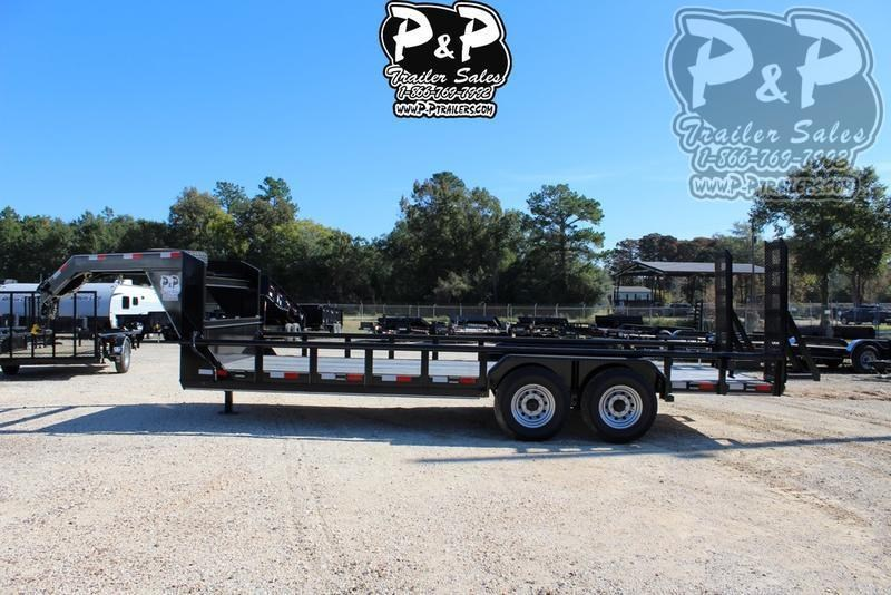 2020 P and P PPLB20X83HDFURPT 20 ft Utility Trailer
