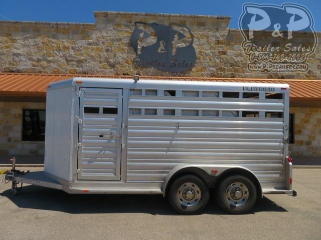 2014 Platinum Coach 14' STK 3 Horse Slant Load Trailer