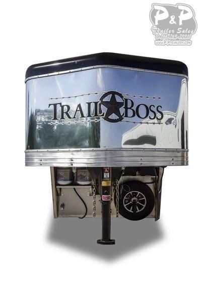 2020 Bison Trailers Trail Boss 7311TB-SO 3 Horse Slant Load Trailer 0 FT LQ With Slides
