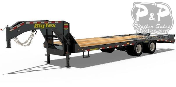 2020 Big Tex Trailers 3XGN-28+5 Flatbed Trailer