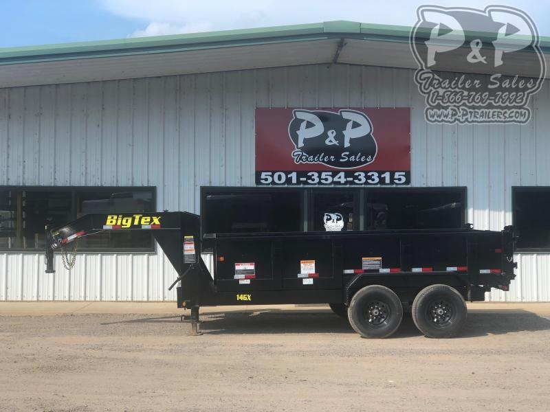 2020 Big Tex Trailers 14GX-14BK7SIRPD 14 ft Dump Trailer