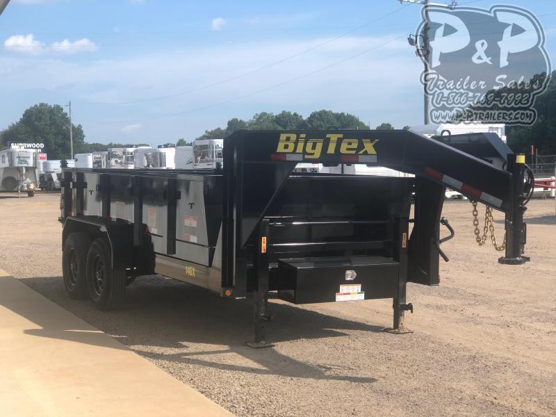 2020 Big Tex Trailers 14GX-14BK7SIRPD 14 ft Dump Trailer