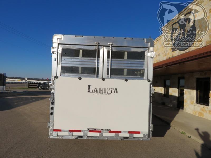 2020 Lakota Charger LE81413T 34.50 ft Livestock Trailer LQ