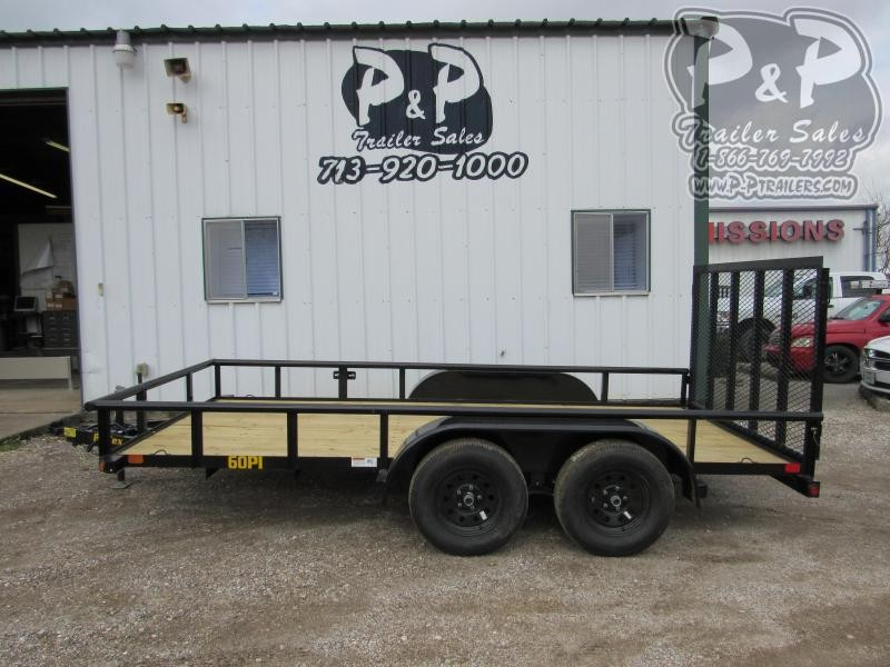 2020 Big Tex Trailers 77x14 TAPT 14 ft Utility Trailer