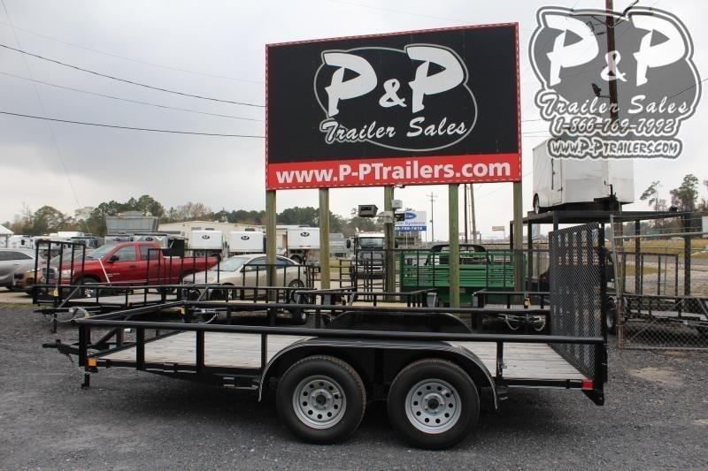 2020 P and P PPTA14X83LDRGPT 14 ft Utility Trailer