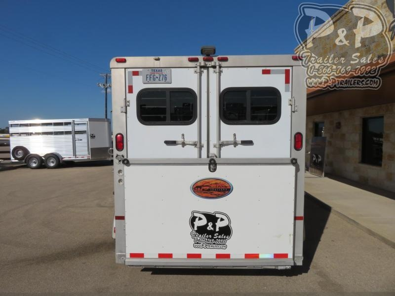 1999 Sundowner Trailers 3H 3 Horse Slant Load Trailer w/ Ramps