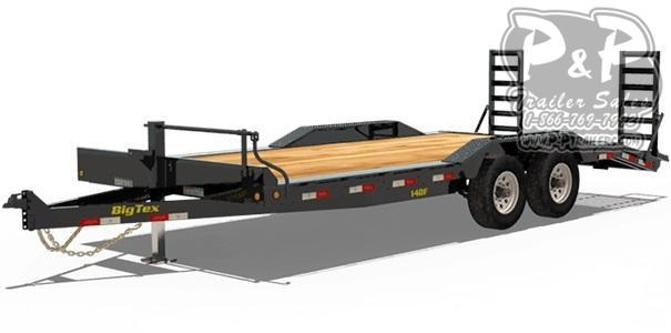 2020 Big Tex Trailers 14DF-18 Equipment Trailer