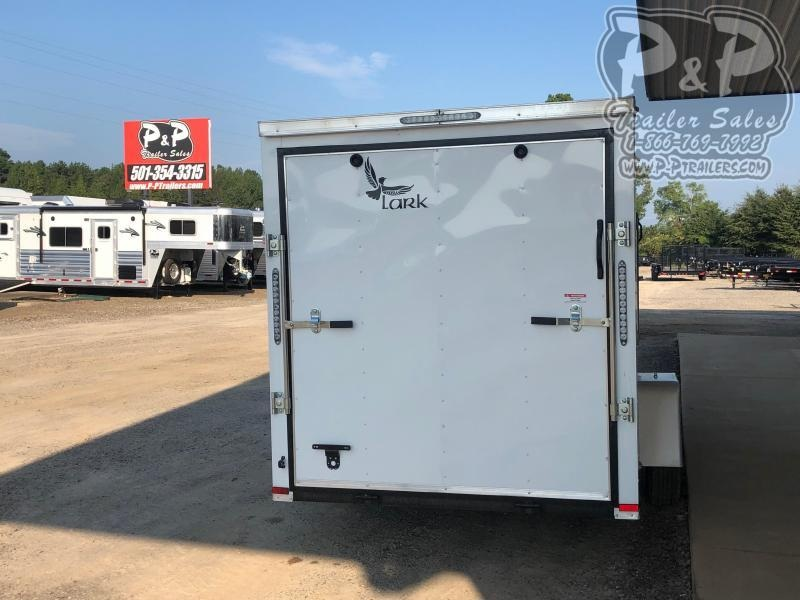 2020 Lark VT612SA 12 ft Enclosed Cargo Trailer