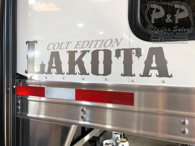 2020 Lakota Colt AC411NS 4 Horse Slant Load Trailer 11 FT LQ