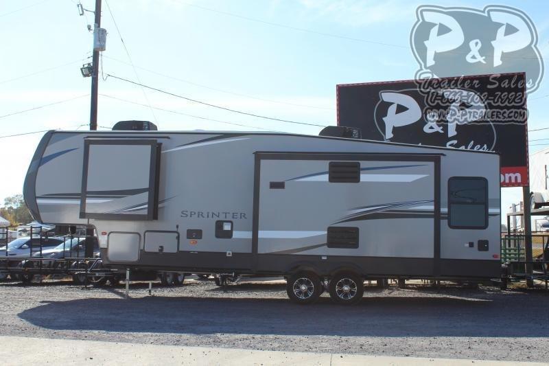 2020 Keystone Sprinter Campfire 29FWRL 34.20 ft Fifth Wheel Campers RV