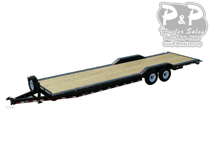 2020 PJ Trailers 8 in. Channel Super-Wide (B8) Car / Racing Trailer