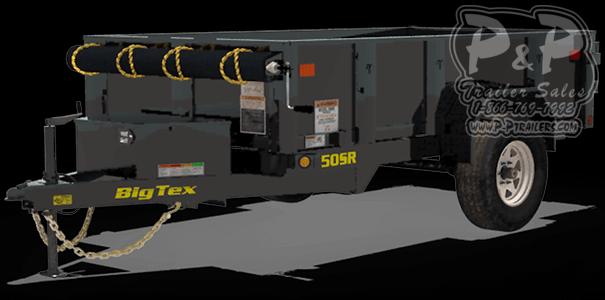 2019 Big Tex Trailers 50SR-10-5W Dump Trailer