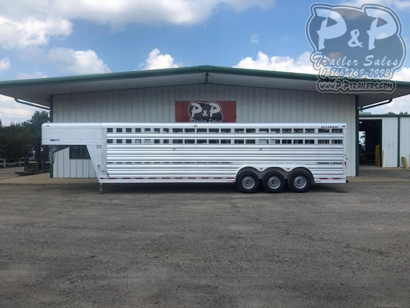 2020 Platinum Coach 828STK Livestock Trailer